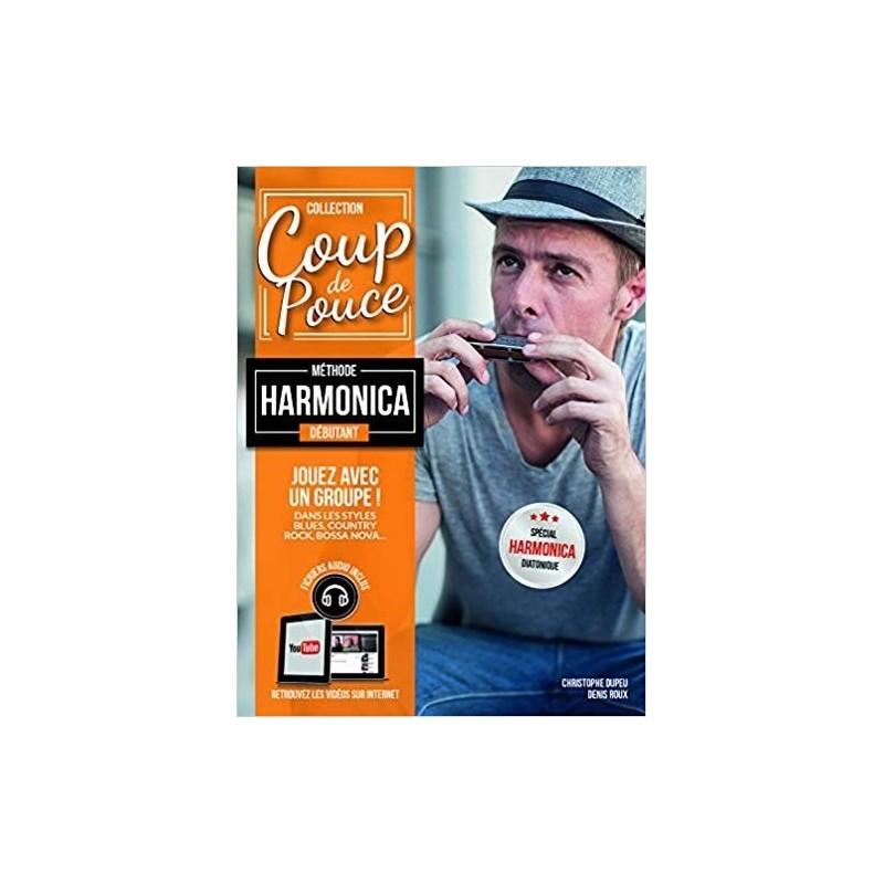 Méthode harmonica débutant + fichiers audio