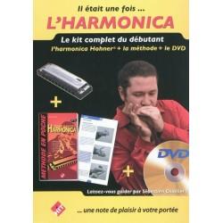Méthode : Il était une fois... L'Harmonica (Méthode + Harmonica + DVD)