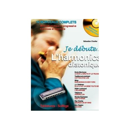 Je débute l'harmonica diatonique + CD Melody Music Caen
