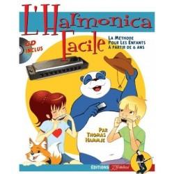 La méthode : L'harmonica facile + CD La méthode pour les enfants à partir de 6 ans