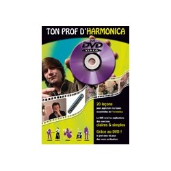 Méthode : Ton prof d'harmonica avec DVD