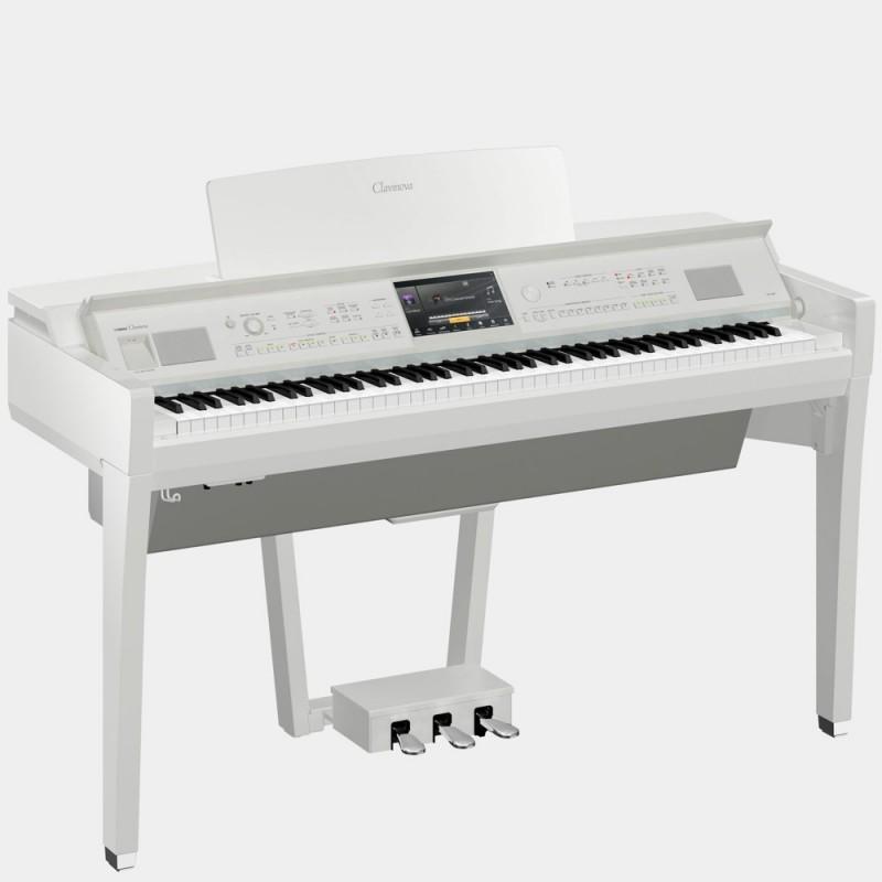 Yamaha CVP-809PWH Clavinova Melody Music Caen