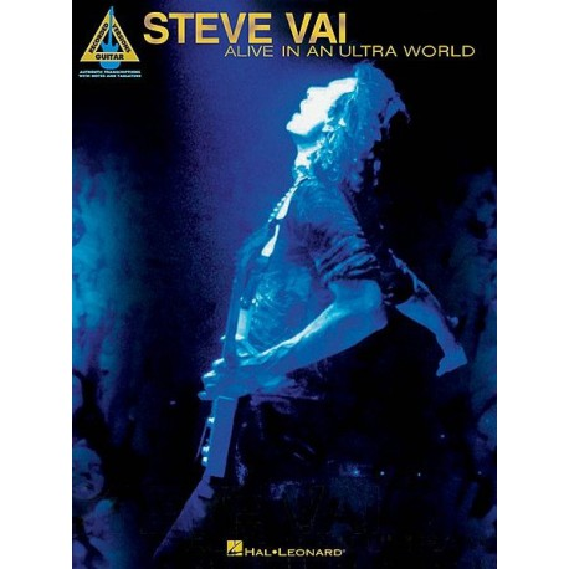 Steve Vai Alive In An Ultra World Guitare/Tab Ed Hal Leonard Melody music caen