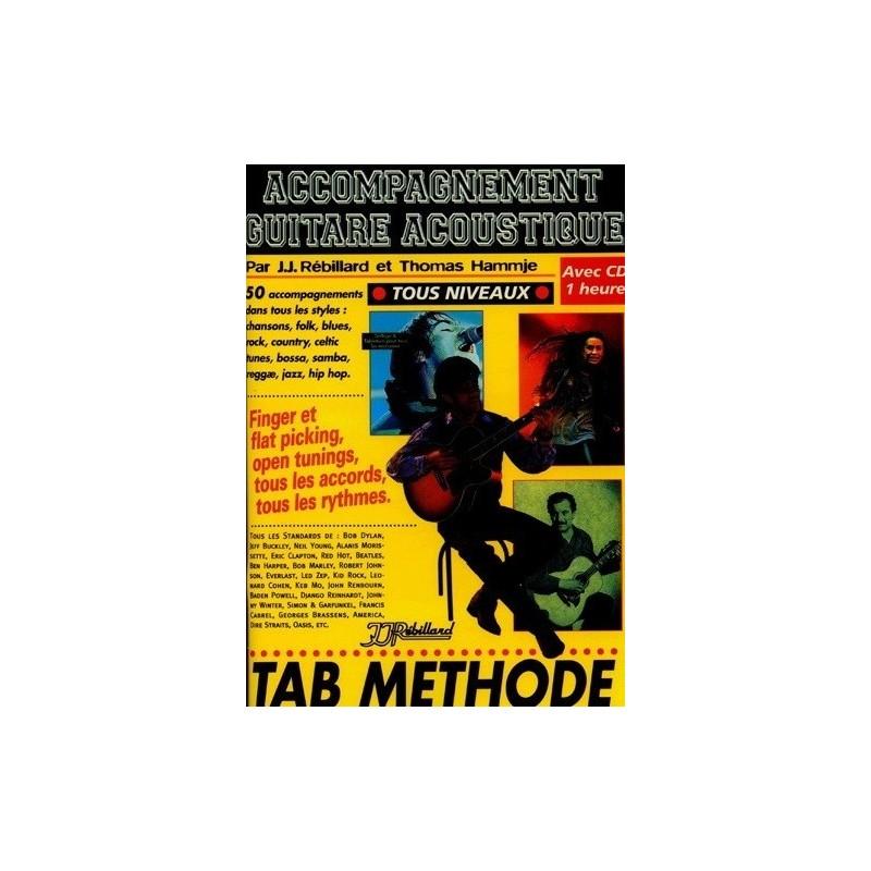 Accompagnement Guitare Acoustique Ed Rébillard Melody music caen