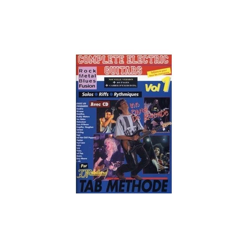 Complete Electric Guitar Vol1 Ed Rebillard Melody music caen
