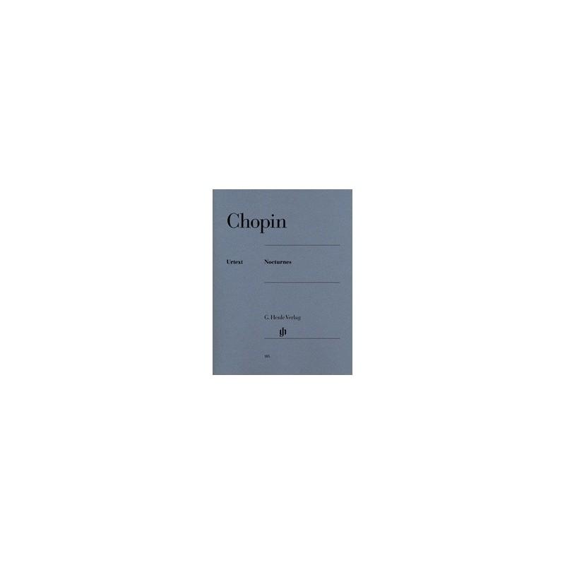 Nocturnes Chopin Urtext HN185 Melody music caen