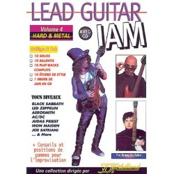 Rébillard Lead Guitar Jam Vol. 4 Hard Metal