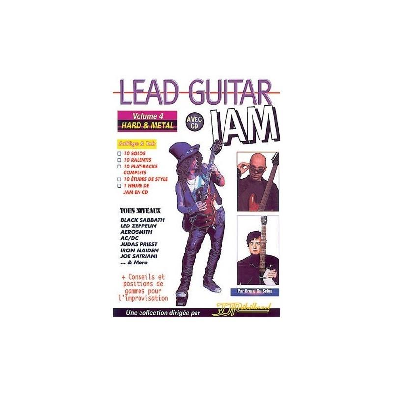 Lead Guitar Jam Vol4 Hard Metal Ed Rebillard Melody music caen