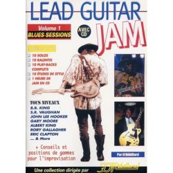 Rebillard Lead Guitar Jam Vol1 Blues Sessions
