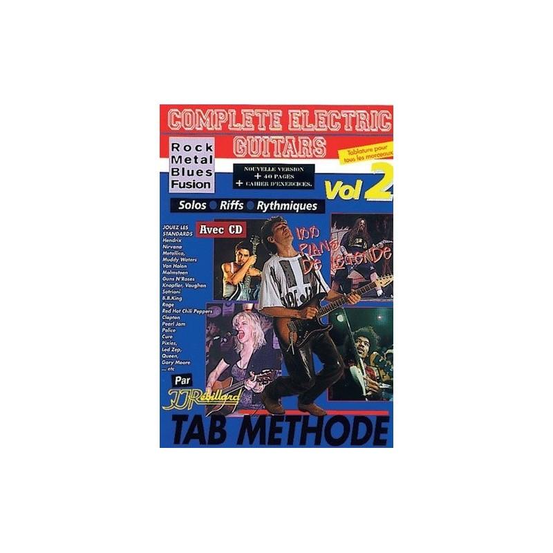 Complete electric Guitars Vol2 Rock Metal Blues Fusion Ed Rebillard Melody music caen