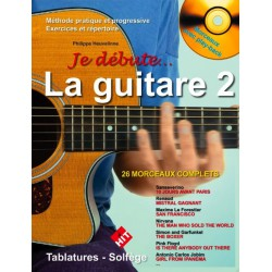 Je débute la guitare Vol2 CD