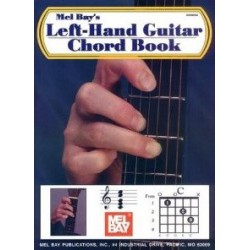 Left Hand Guitar Chord Book Mel Bay Melody music caen