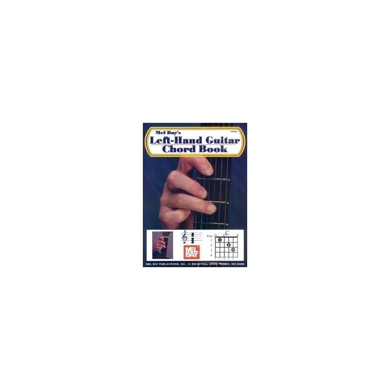 Left Hand Guitar Chord Book Mel Bay Melody music caen